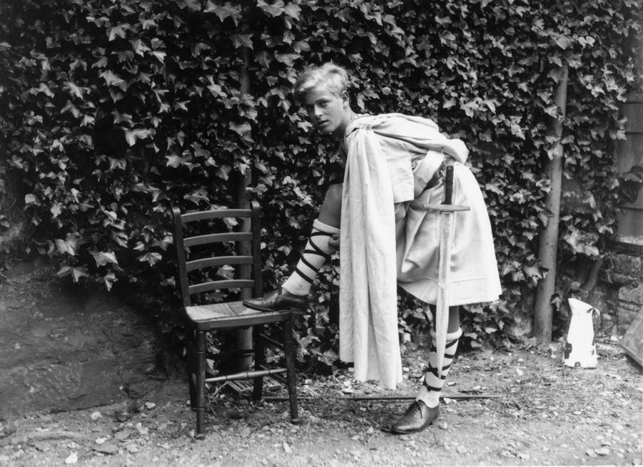 Le prince Philip, en juillet 1935