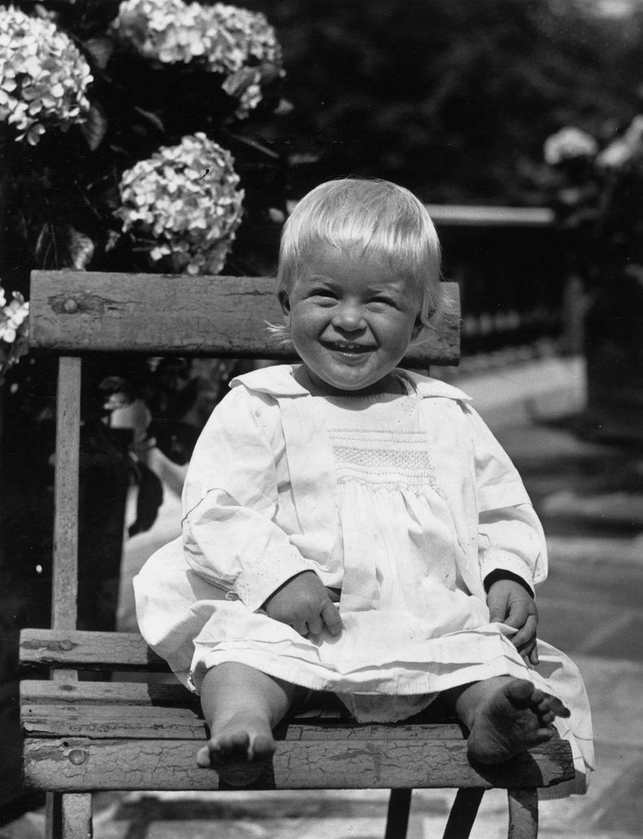Le prince Philip, en juillet 1922