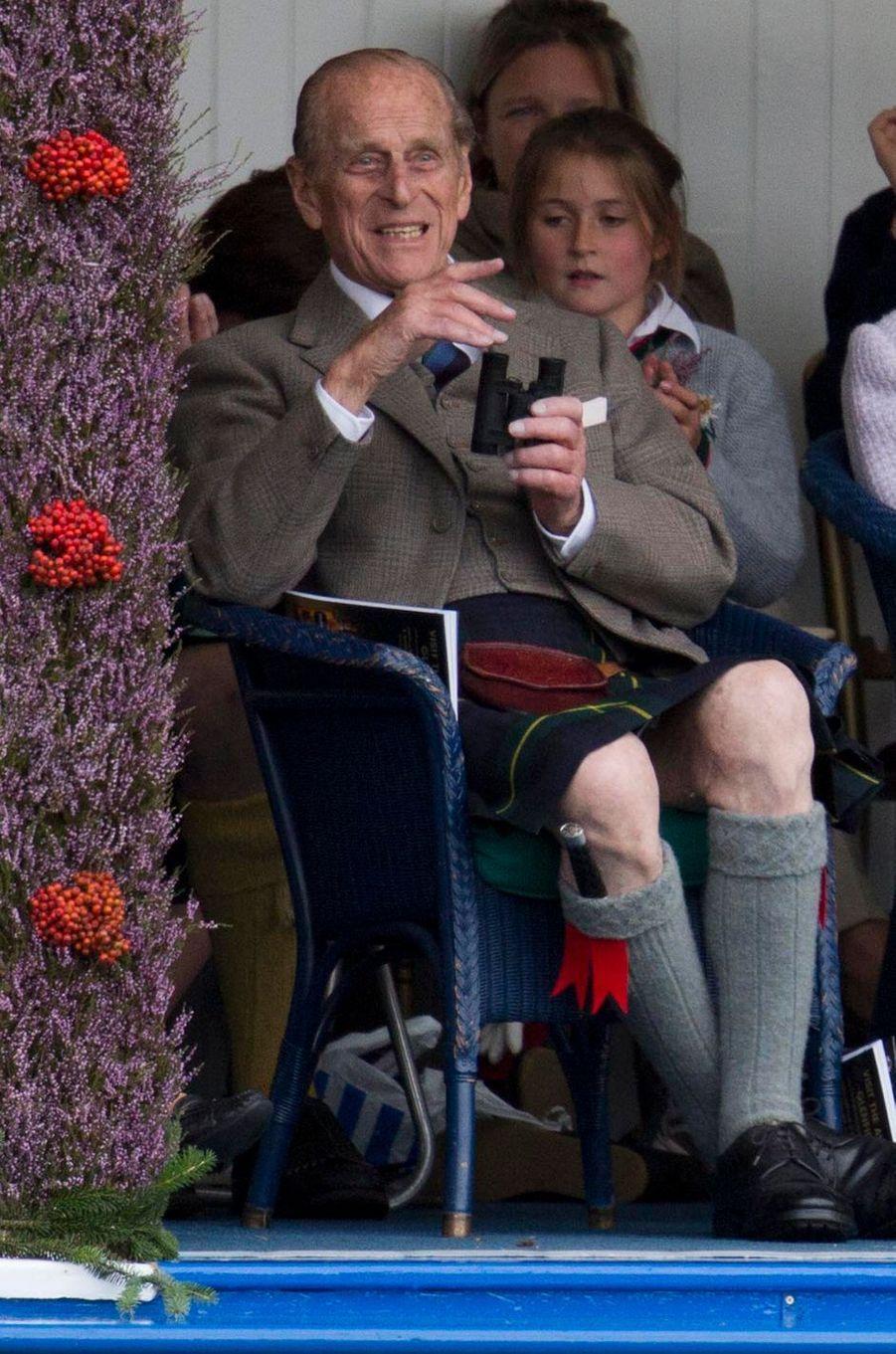 Le prince Philip, le 1er septembre 2012