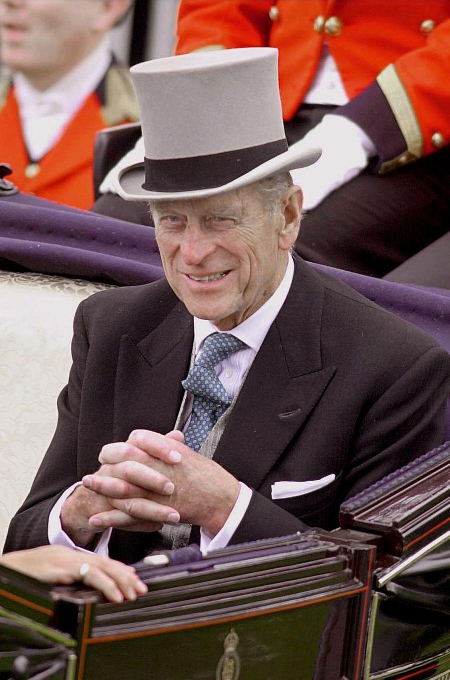 Le prince Philip, le 20 juin 2000