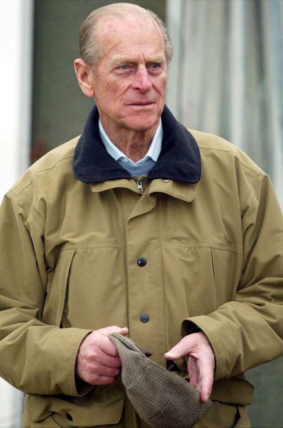 Le prince Philip, le 23 décembre 2002
