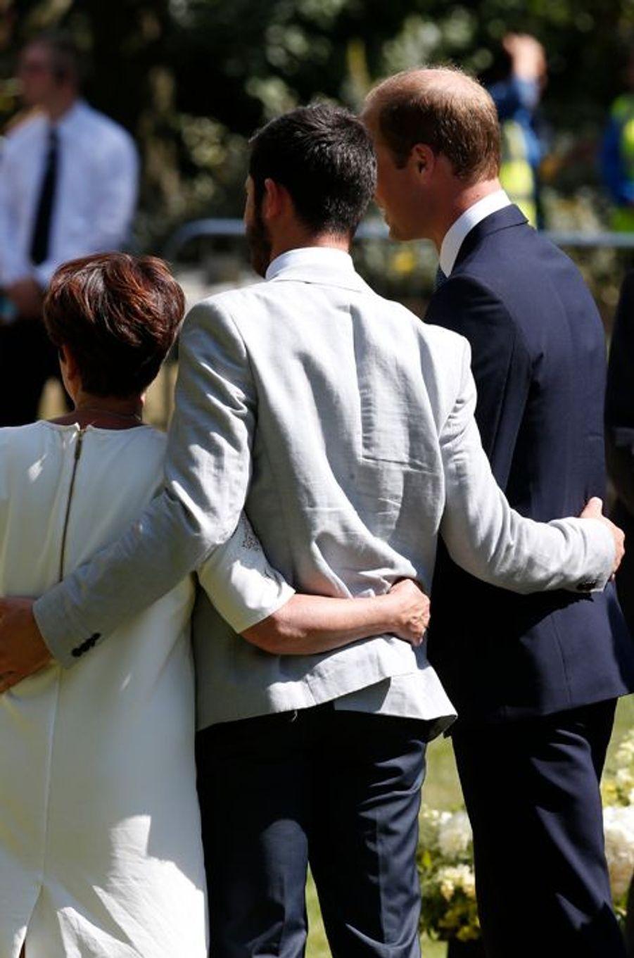 Le prince William à Hyde Park à Londres, le 7 juillet 2015