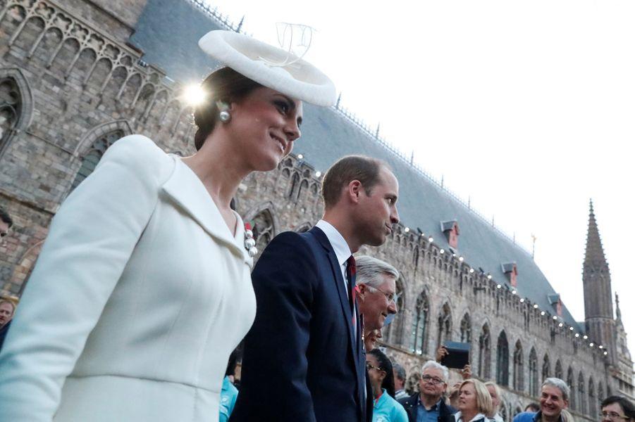 La duchesse Catherine à Ypres le 30 juillet 2017