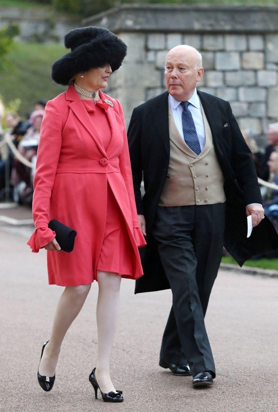 L'écrivain de «Downton Abbey» Julian Fellowes et son épouse Emma Joy Kitchener.