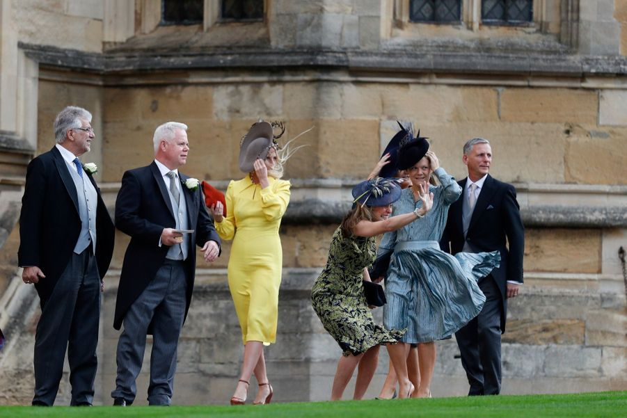 Les invités du mariage de la princesse Eugenie d'York en photos