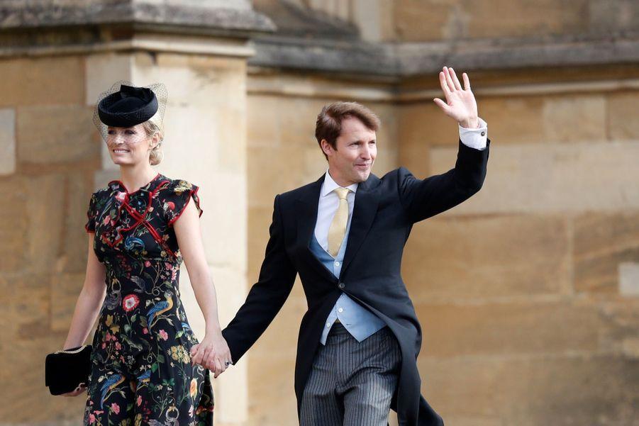 James Blunt et son épouse Sofia Wellesley.