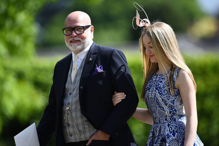 L'oncle de Pippa Middleton, Gary Goldsmith et sa fille Tallulah