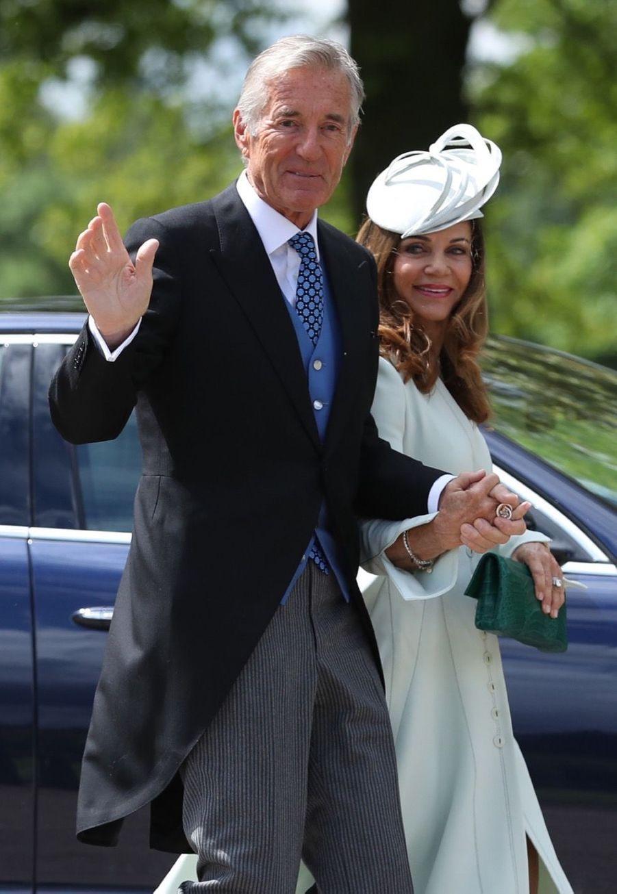 Les parents du marié, David et Jane Matthews