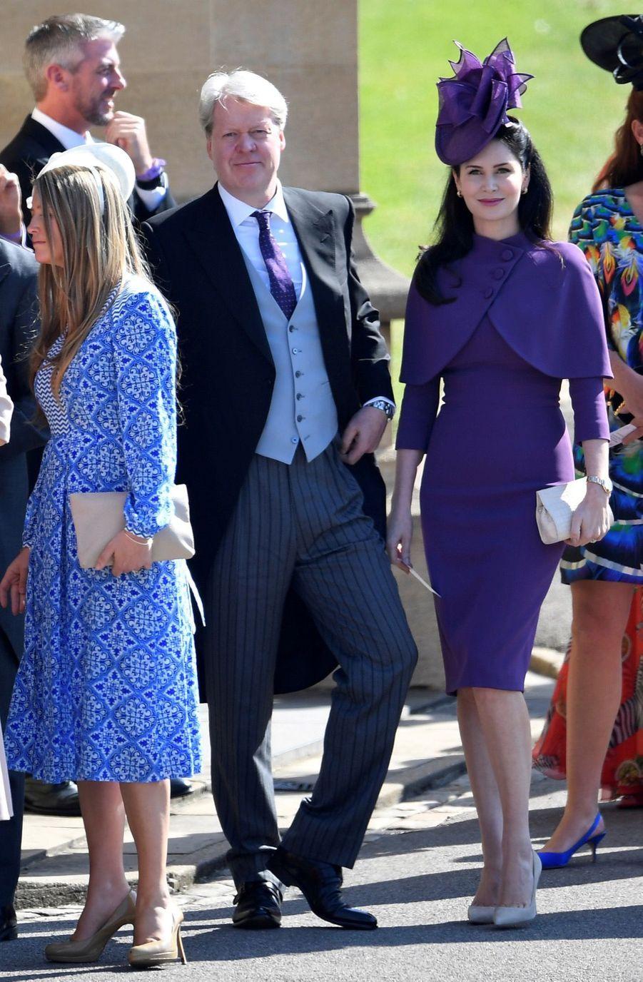 Charles Spencer, frère de Diana,au mariage de Meghan et Harry