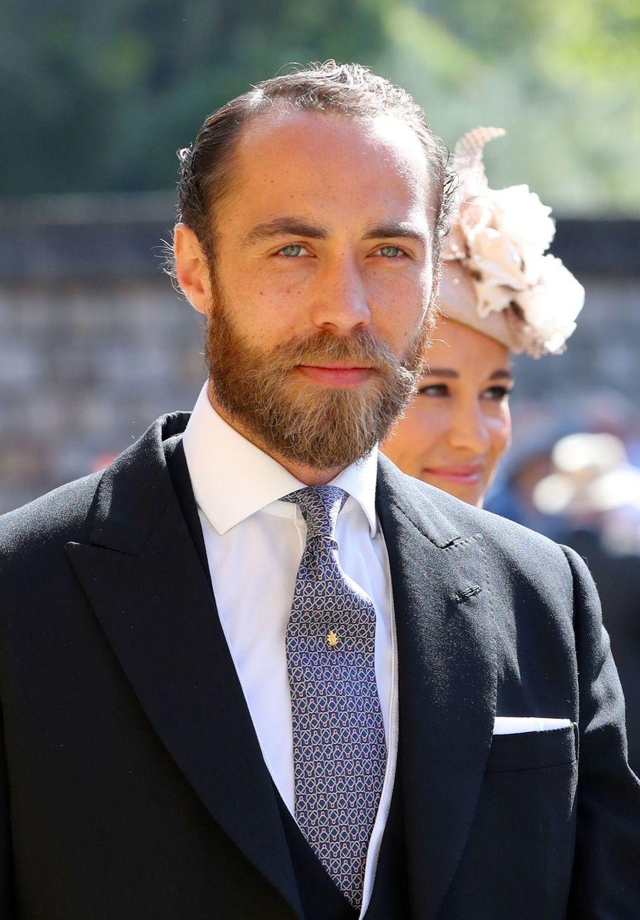 James Middleton, le frère de Kate,au mariage de Meghan et Harry