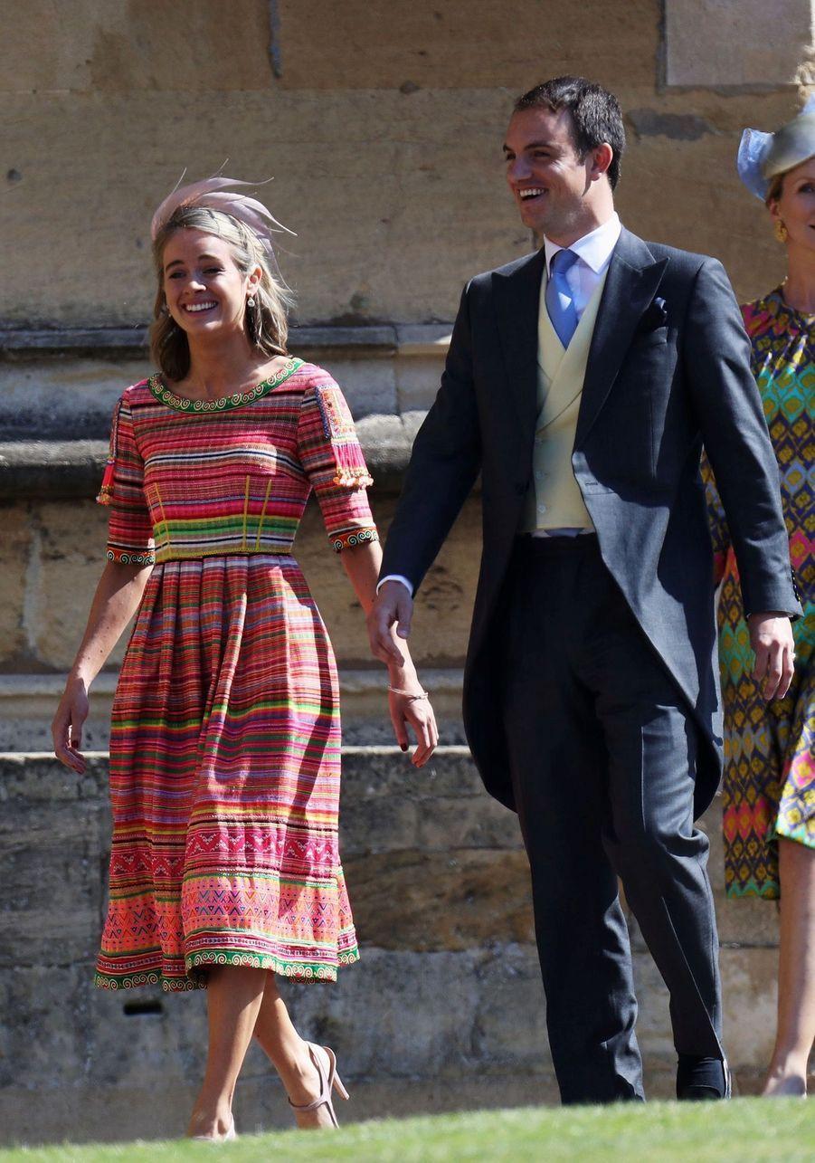Cressida Bonas, l'ex du prince Harry,au mariage de Meghan et Harry
