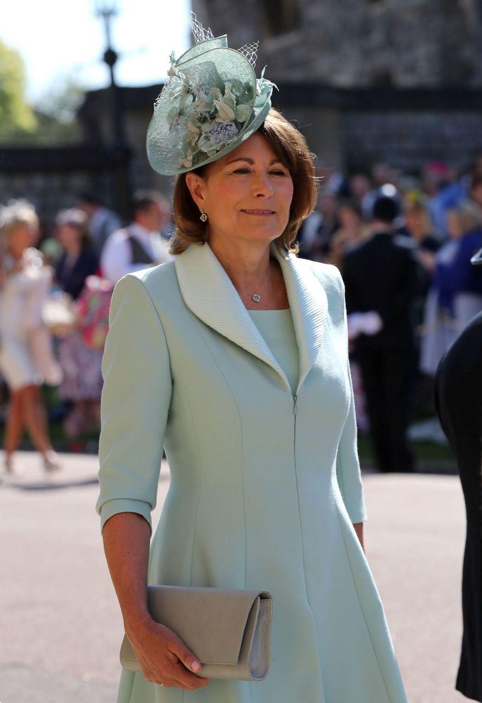 Carole Middleton, la mère de Kate,au mariage de Meghan et Harry