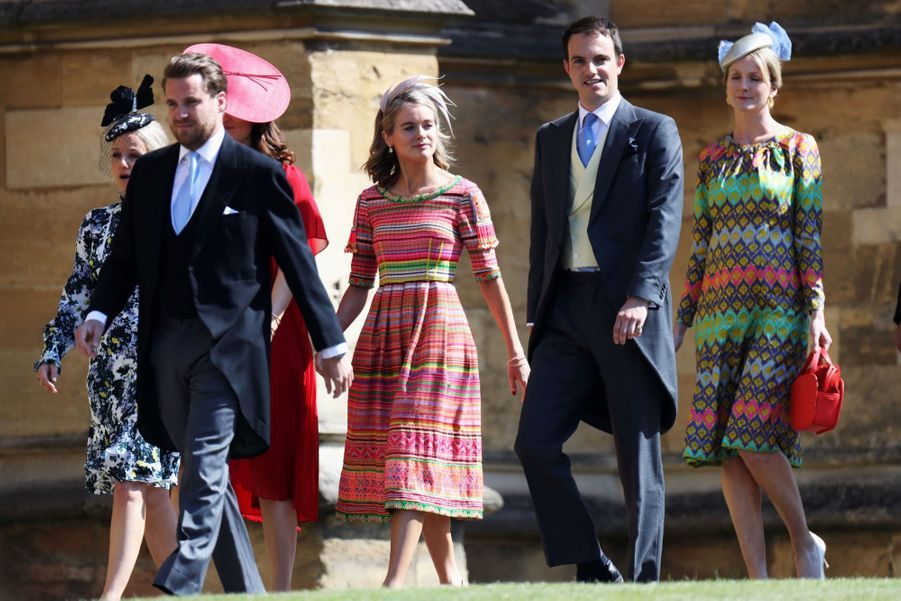 Cressida Bonas, l'ex du prince Harry, au mariage de Meghan et Harry