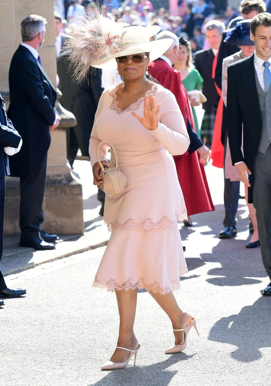 Oprah Winfreyau mariage de Meghan et Harry