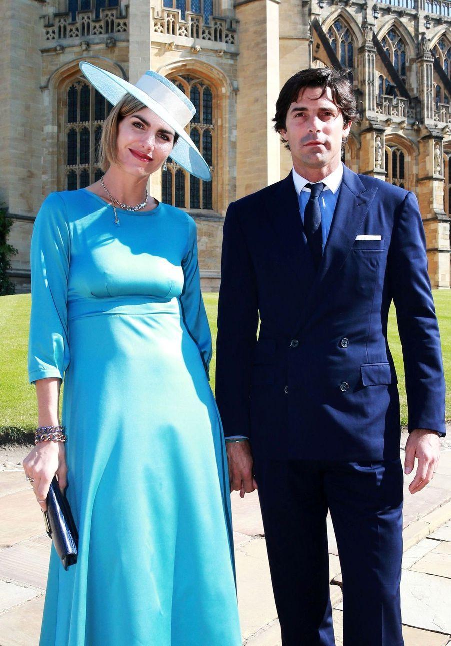 Delfina Blaquier et Nacho Figueras au mariage de Meghan et Harry