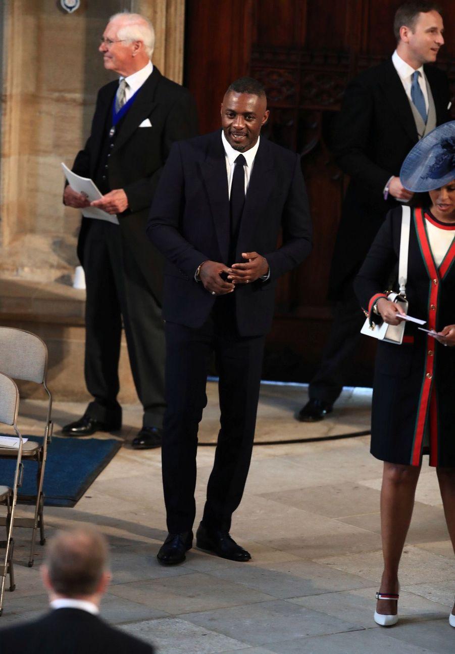 Idris Elbaau mariage de Meghan et Harry