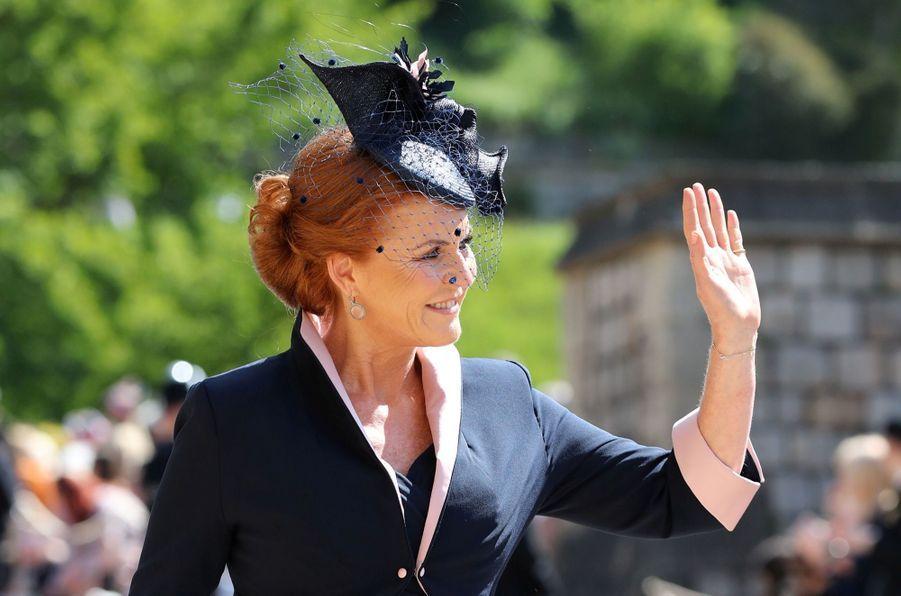 Sarah Ferguson, duchesse d'York,au mariage de Meghan et Harry