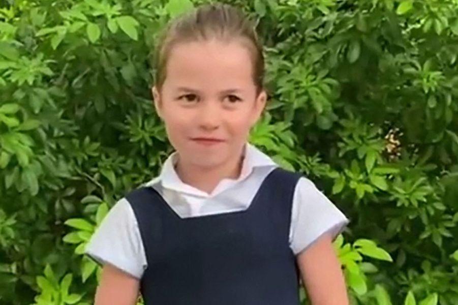La princesse Charlotte questionnant Sir David Attenborough sur une vidéo partagée en octobre 2020