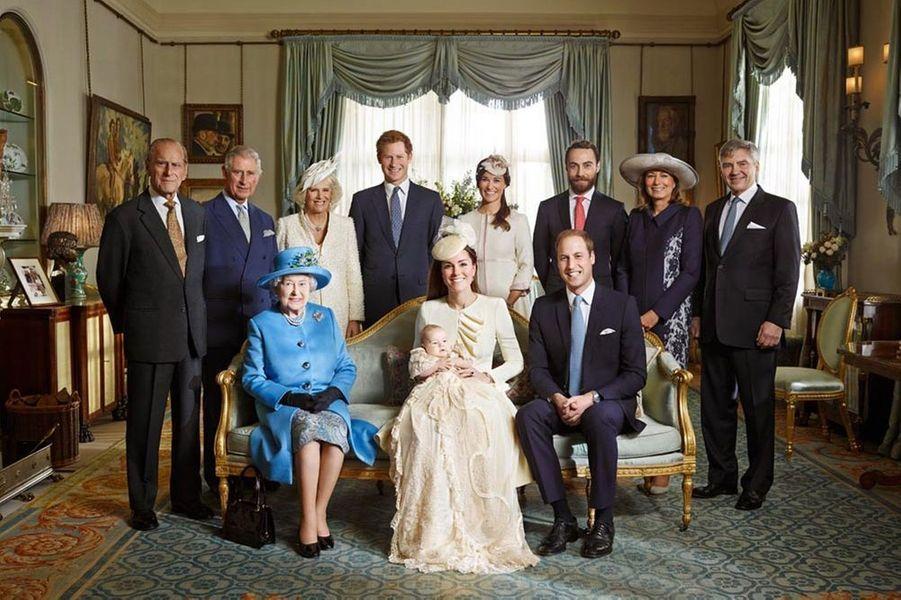 Avec la famille des Middleton