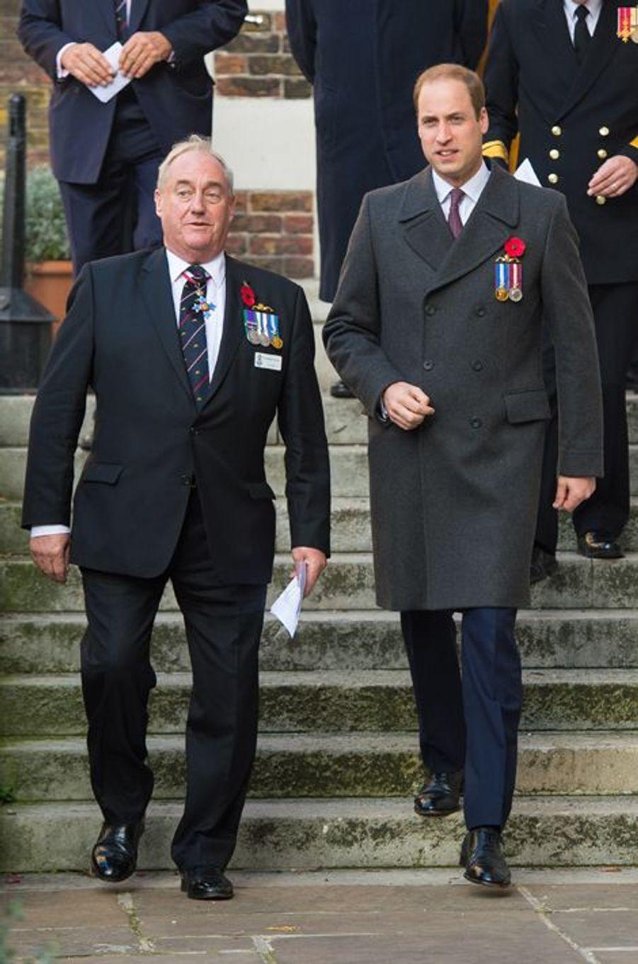 Le prince William à Londres, le 1er novembre 2015