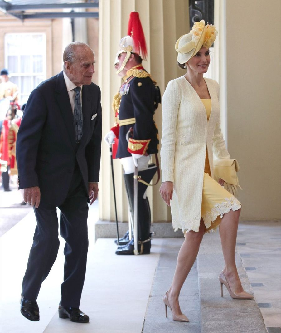 Letizia Et Felipe En Visite Chez La Reine Elizabeth II 10