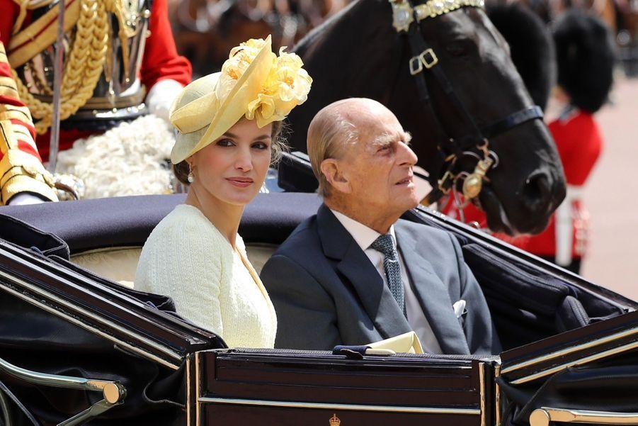 Letizia Et Felipe En Visite Chez La Reine Elizabeth II 16