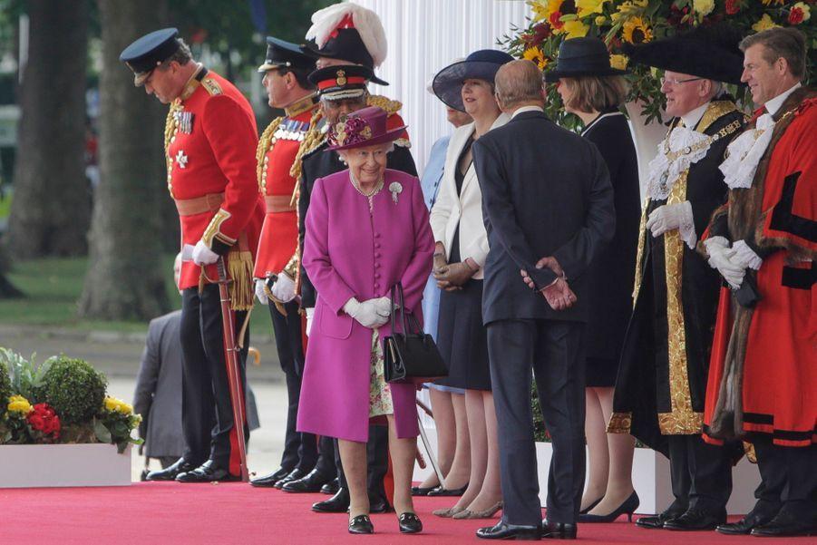 Letizia Et Felipe En Visite Chez La Reine Elizabeth II 18