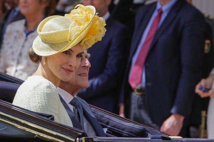 Letizia Et Felipe En Visite Chez La Reine Elizabeth II 20