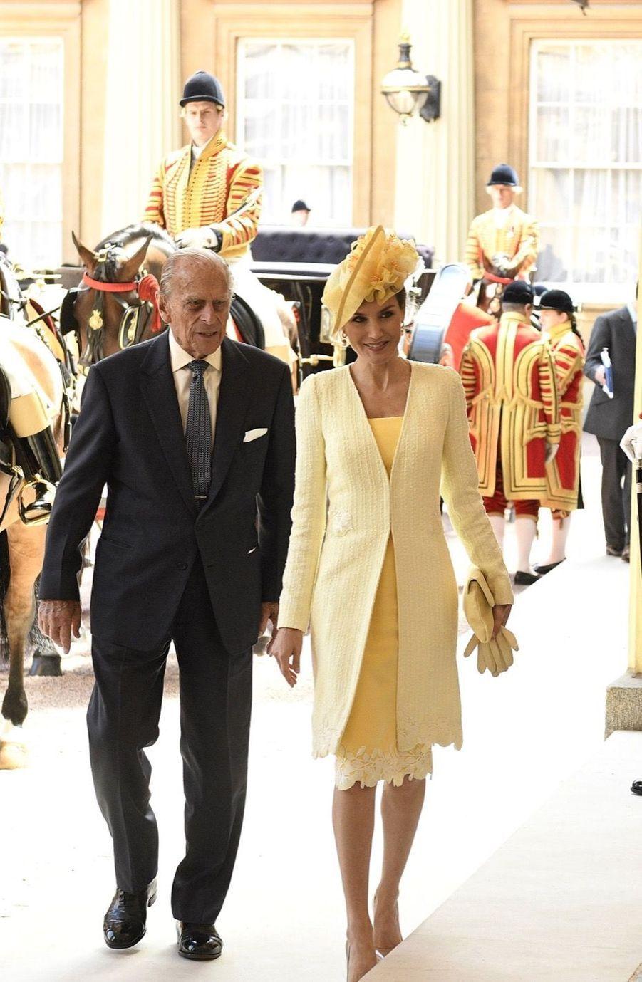 Letizia Et Felipe En Visite Chez La Reine Elizabeth II 27