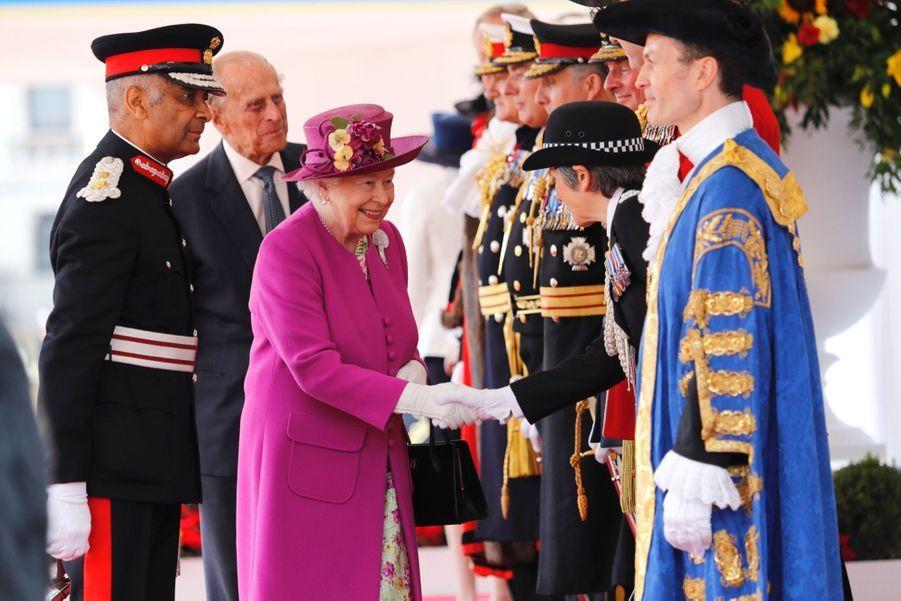 Letizia Et Felipe En Visite Chez La Reine Elizabeth II 30
