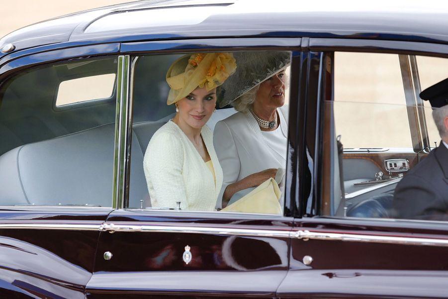 Letizia Et Felipe En Visite Chez La Reine Elizabeth II 31