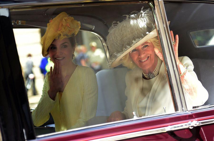 Letizia Et Felipe En Visite Chez La Reine Elizabeth II 4