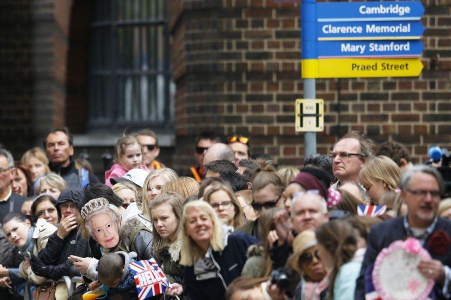 Londres en Royal Baby folie