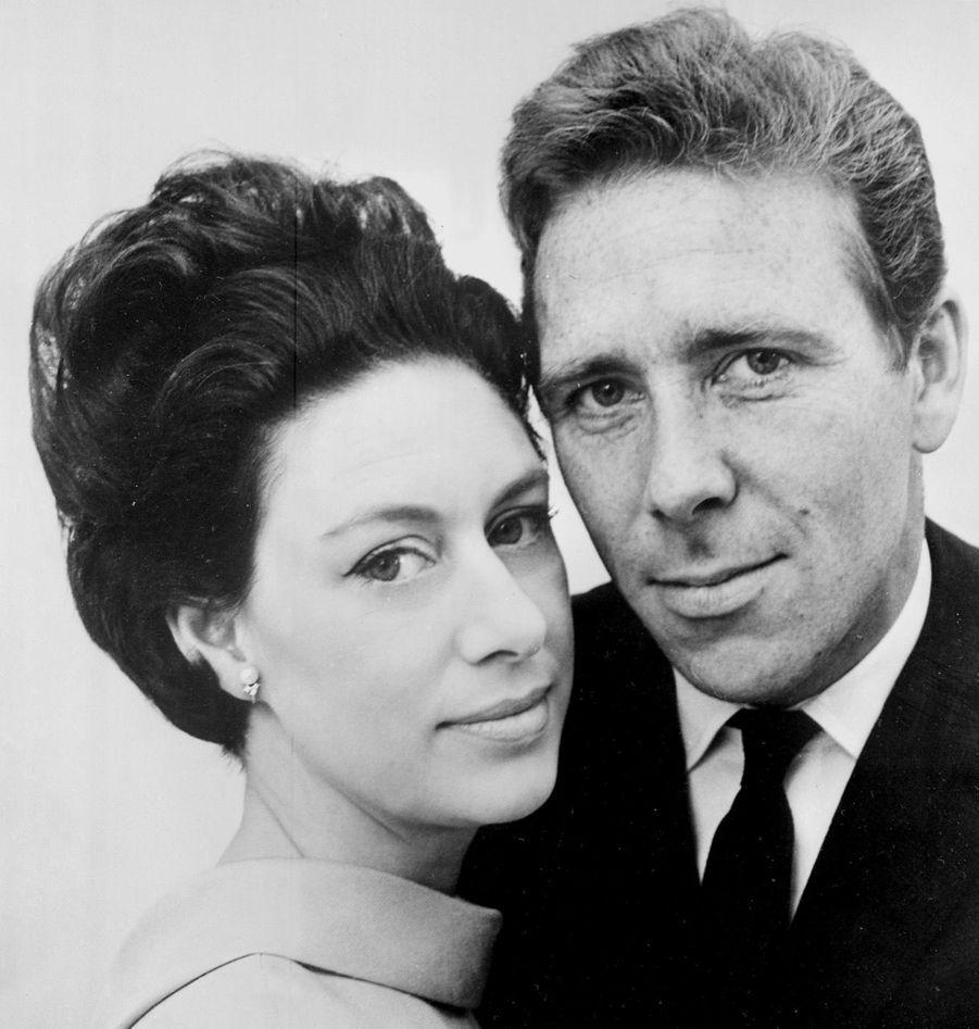 La princesse Margaret et Lord Snowdon, en octobre 1965