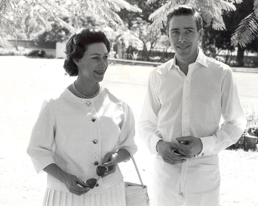 La princesse Margaret et Lord Snowdon à Antigua en 1962