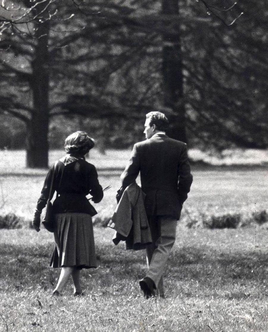 La princesse Margaret et Lord Snowdon en 1962
