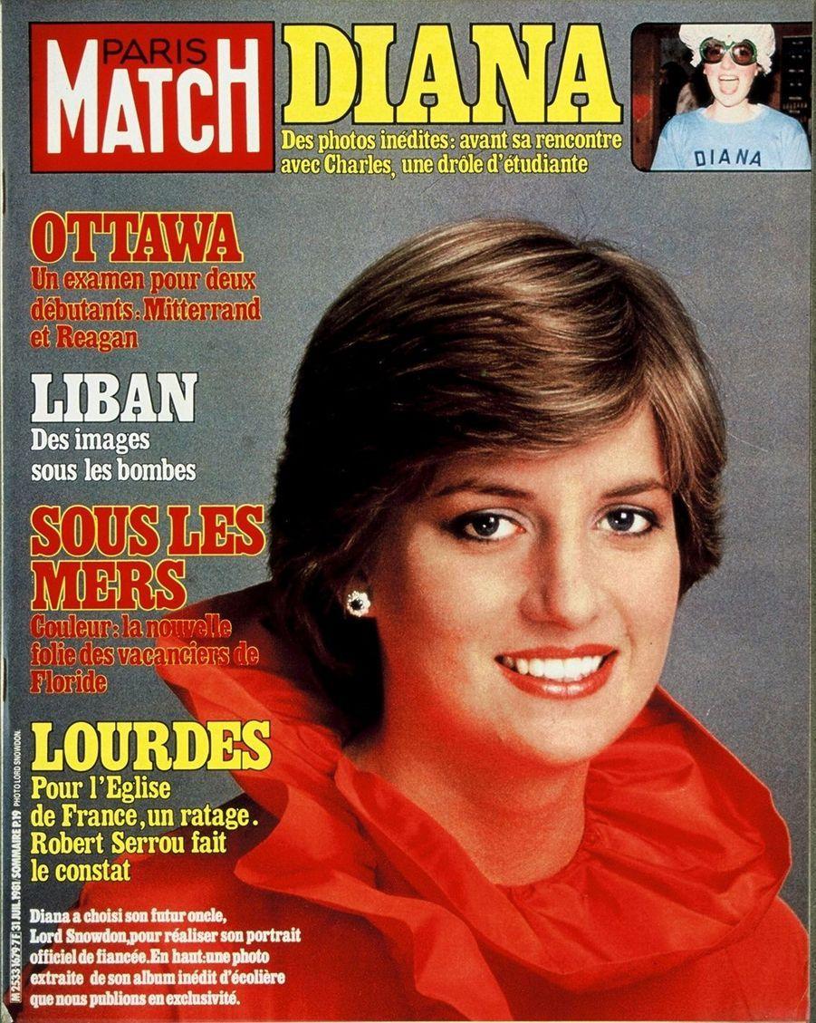 La princesse Diana, juillet 1981