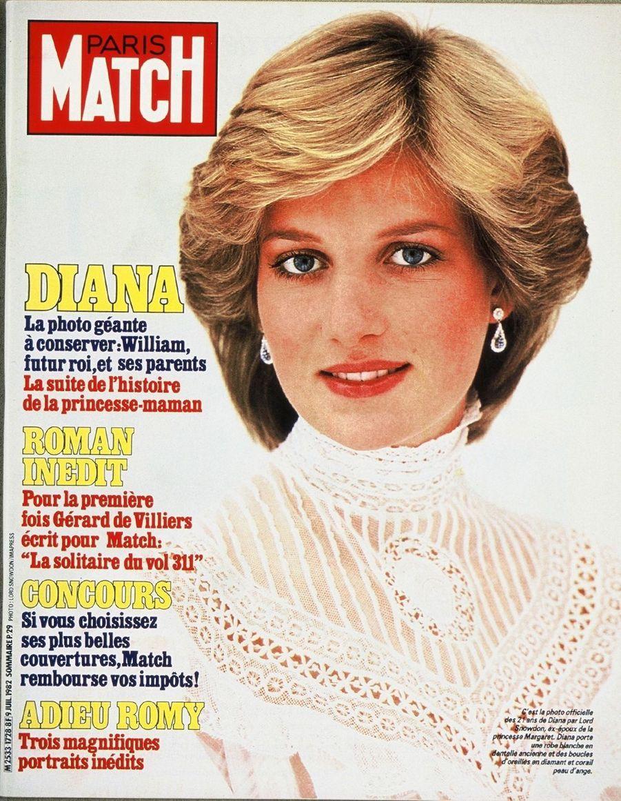 La princesse Diana, juillet 1982