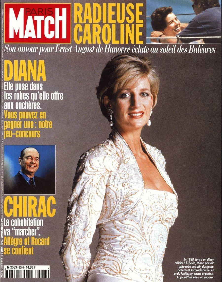 La princesse Diana, juin 1997