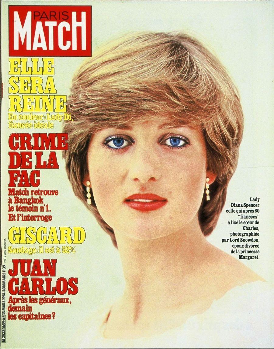 La princesse Diana, mars 1981