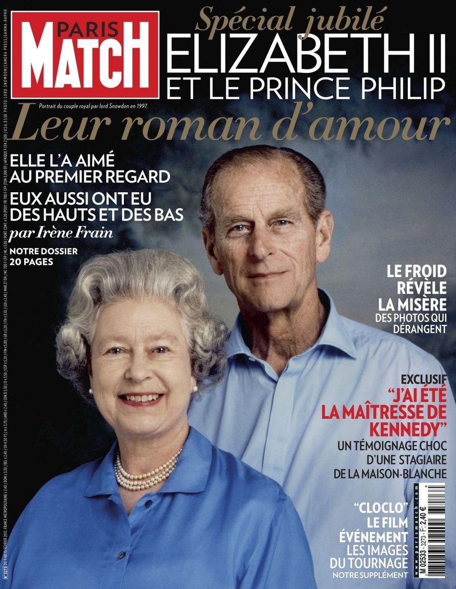 La reine Elizabeth II et le prince Philip, février 2012