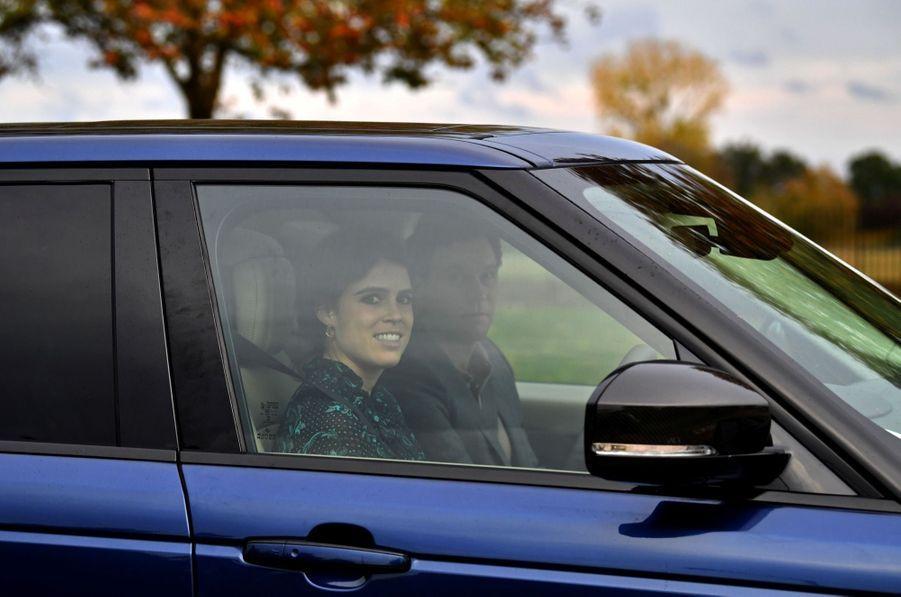 Mariage de la princesse Eugenie d'York : dernière sortie avant la cérémonie à Windsor