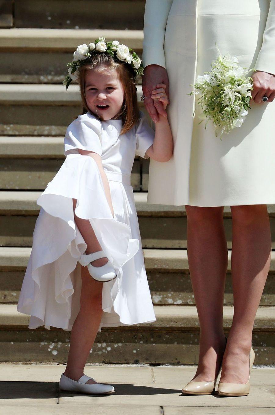 La princesse Charlotte après le mariage.