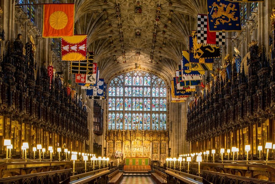 La Chapelle Saint George, Lieu Symbolique De La Famille Royale ( 12