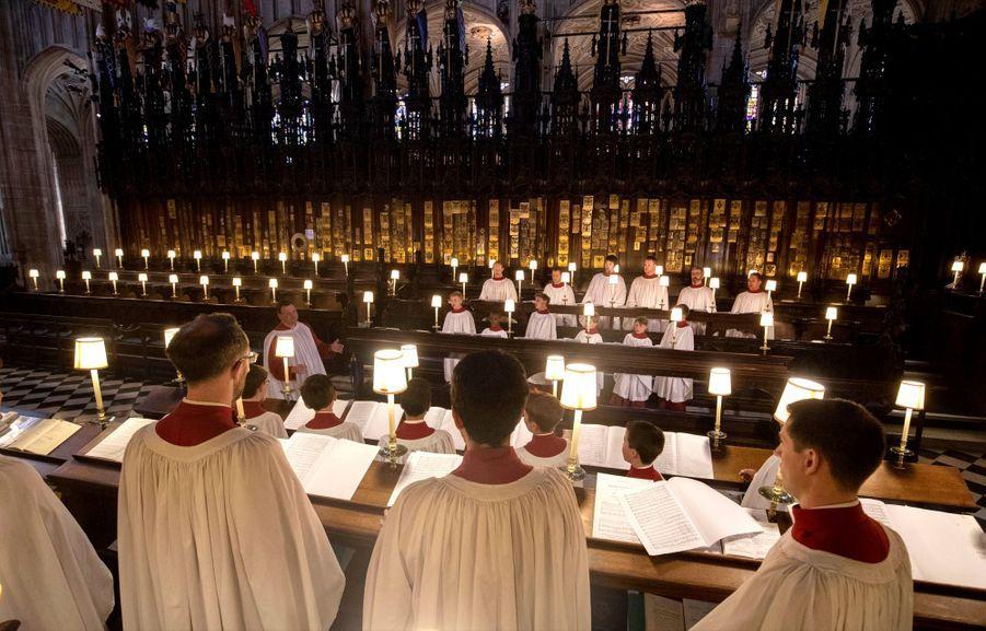 Répétition Des Petits Choristes Qui Chanteront Pour Le Mariage ( 6