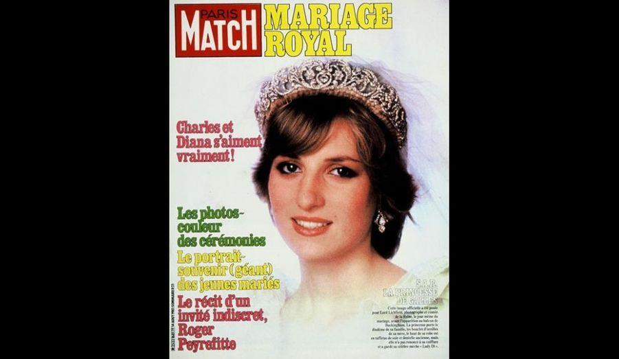 14 Août 1981. Mariage royal pour Diana.