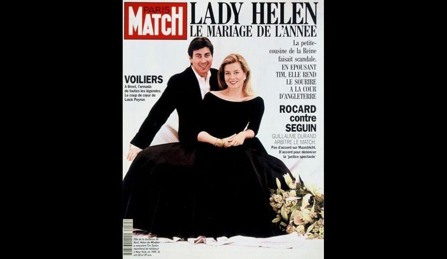 23 Juillet 1992. Lady Helen, le mariage de l'année.