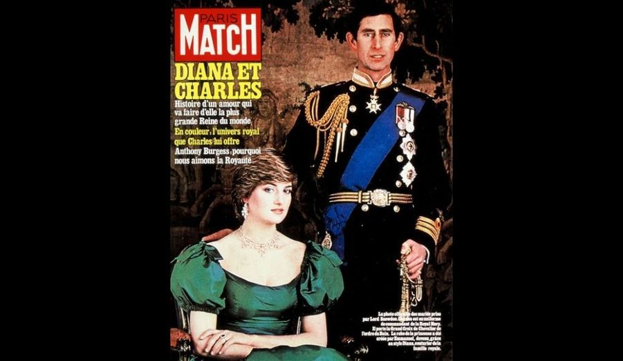 7 Août 1981. Diana et Charles.