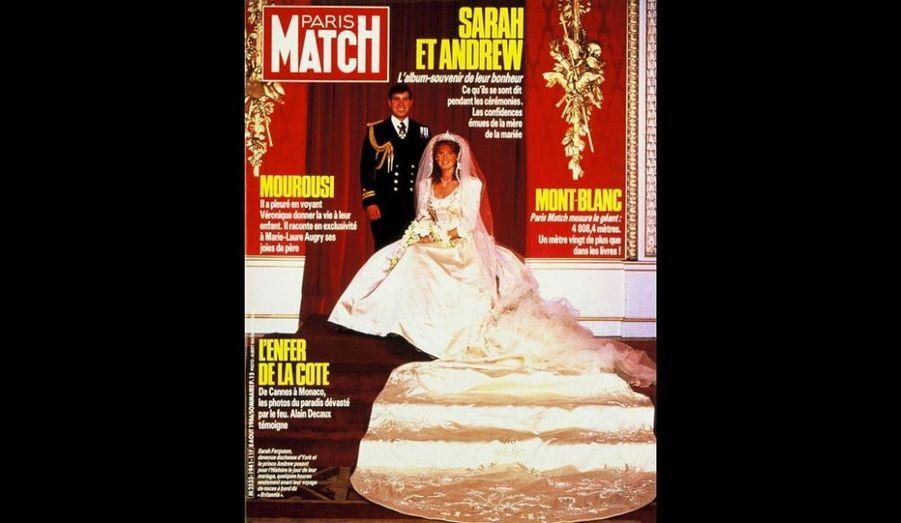 8 Août 1986. Sarah et Andrew.
