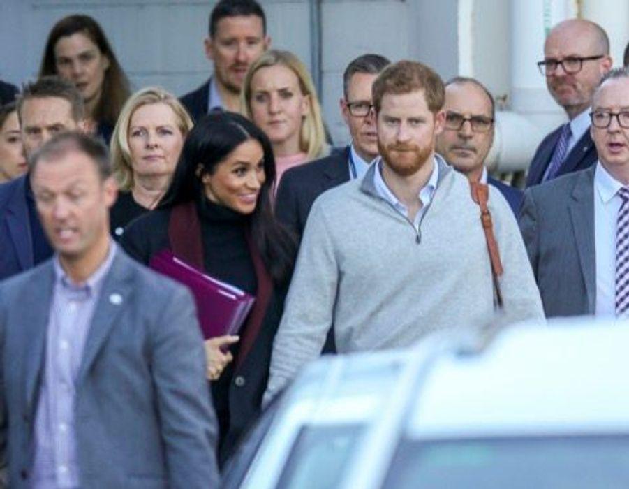Harry et Meghan sont arrivés à Sydney ce lundi matin 15 octobre, première étape d'un voyage de 16 jours dans le Pacifique.